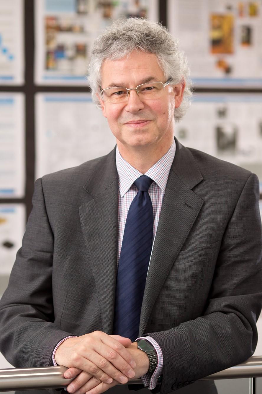 Sir Mark Grundy portrait